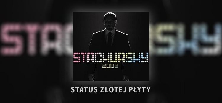 Album Stachursky 2009 osiągnął status złotej płyty