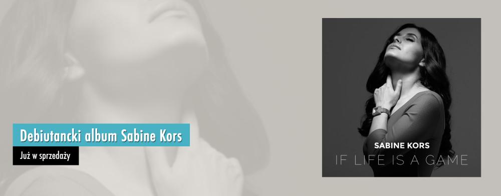 Debiutancki album Sabine Kors