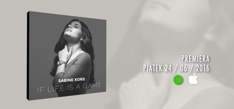 Sabine Kors – Debiutancki album ukaże się 24 czerwca
